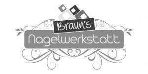 Logo Brauns Nagelwerkstatt von JD Grafik&Design
